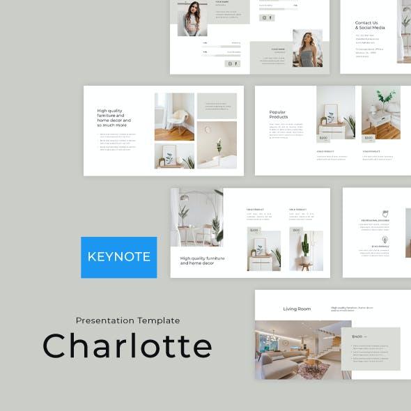 Charlotte Furniture and Home Decoration - Keynote