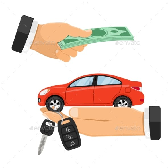 Purchase or Rental Car Banner