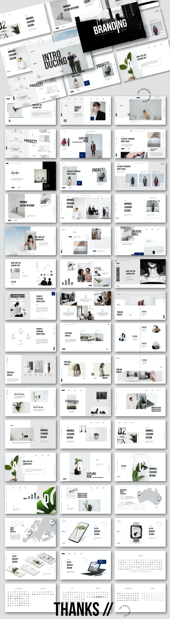 Branding - Business Googleslide - Google Slides Presentation Templates