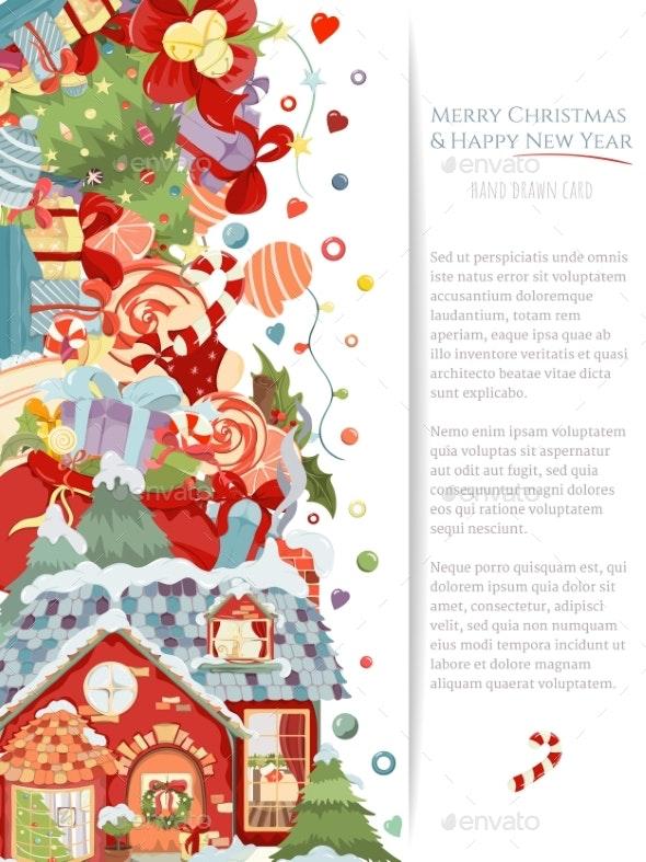 Happy New Year Invitation Card 97