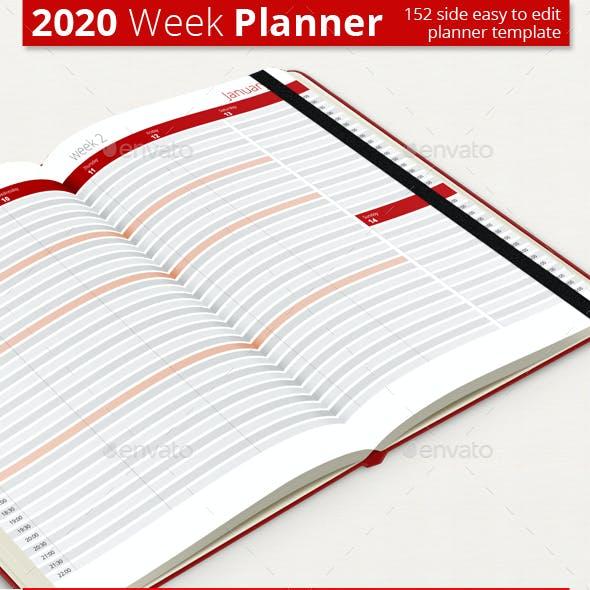 Weekly Planner 2020
