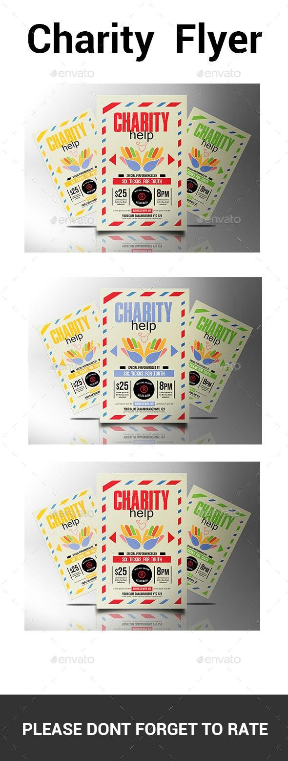 Charity  Flyer - Flyers Print Templates
