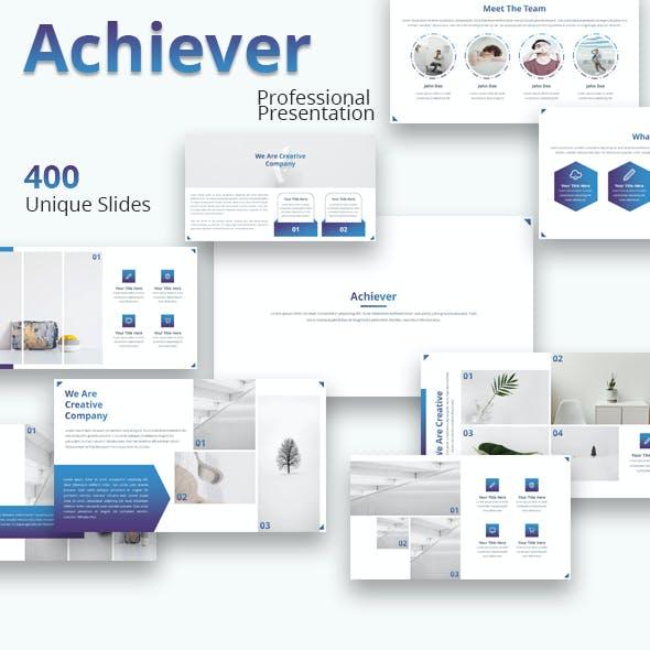Achiever - Multipurpose Powerpoint Template