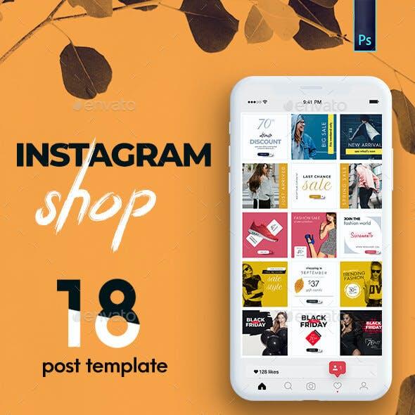 Instagram Shop Template