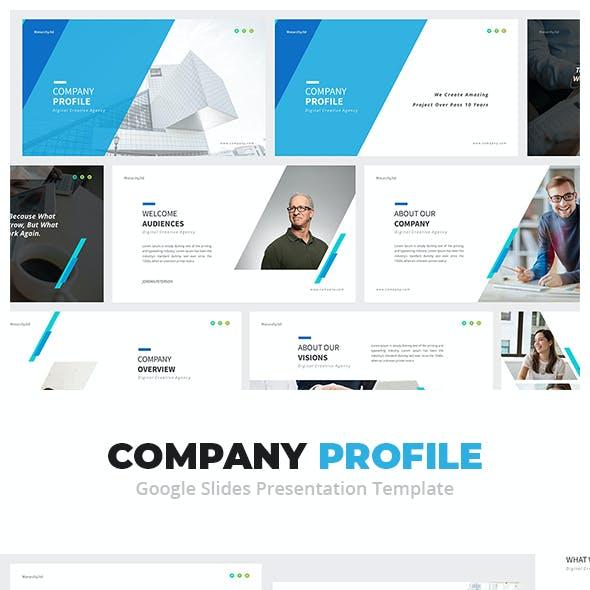 Company Profile Google Slides Presentation