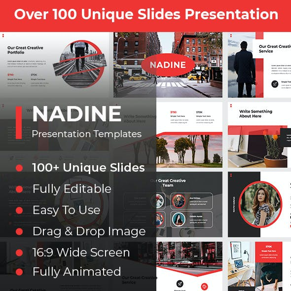 Nadine Creative PowerPoint