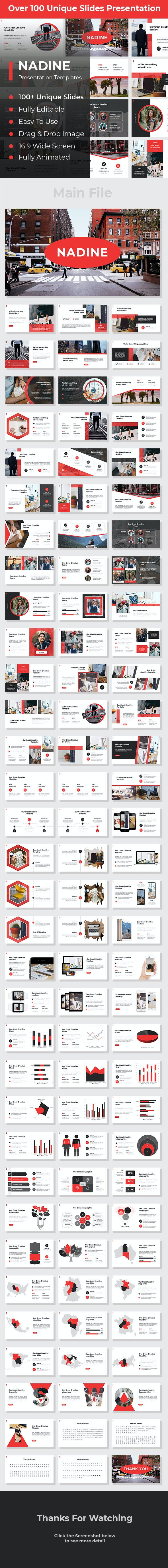 Nadine Creative PowerPoint - Creative PowerPoint Templates