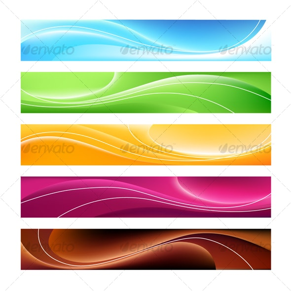 5 banners - Web Technology