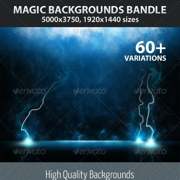 Magic Backgrounds Bandle