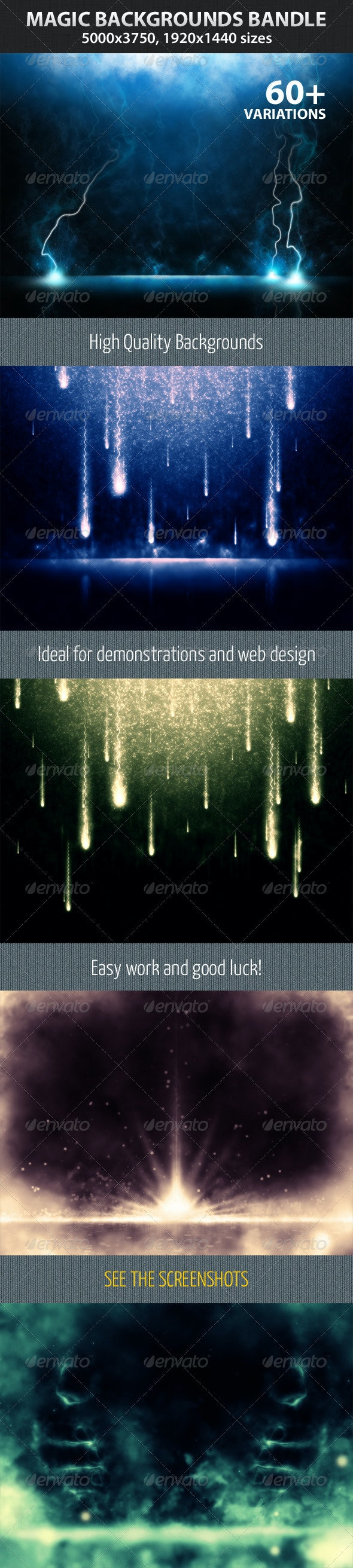 Magic Backgrounds Bandle - Backgrounds Graphics