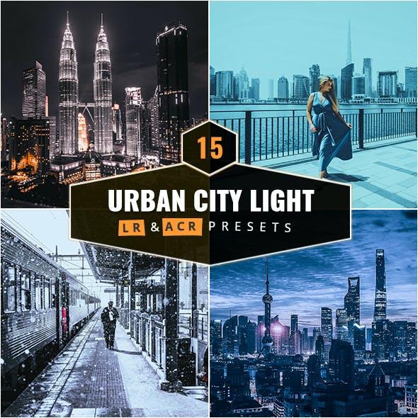 15 Urban City Light Lightroom & Camera RAW Presets