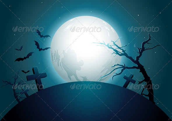 Halloween Midnight. - Backgrounds Decorative