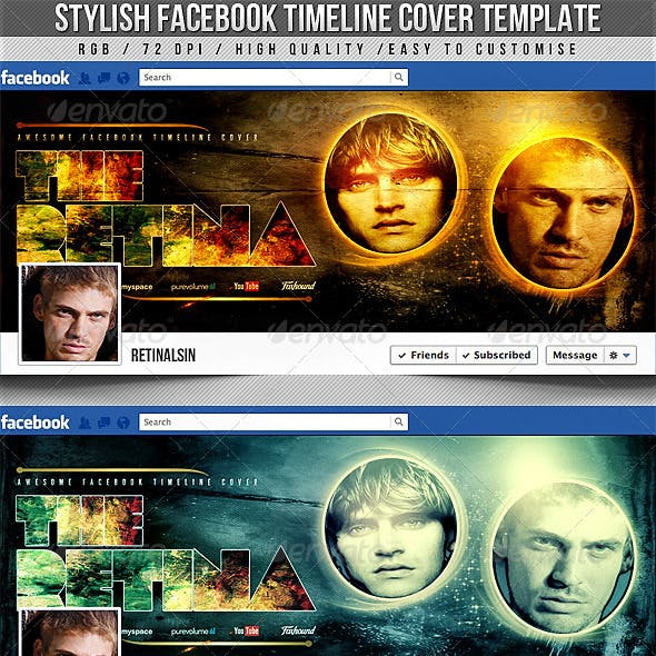 Stylish Facebook Timeline Cover