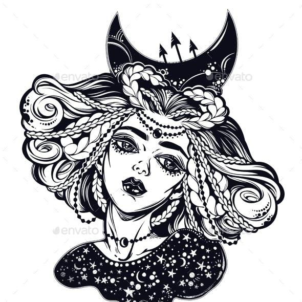 Magic Moon Princess of the Night