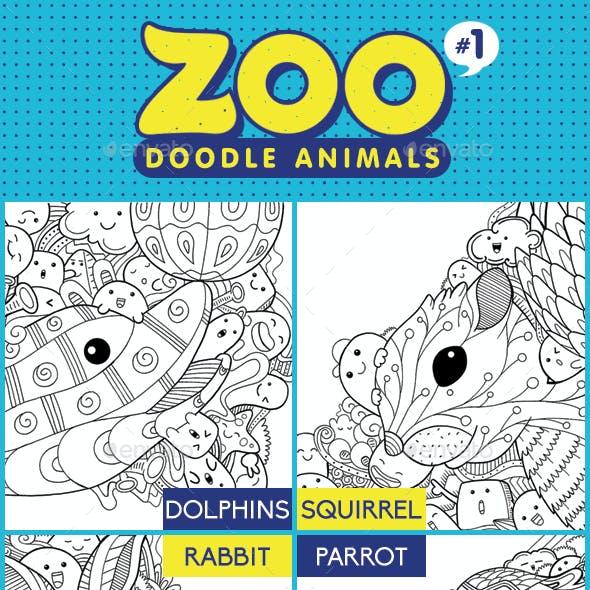 Zoo Doodle Animals #1