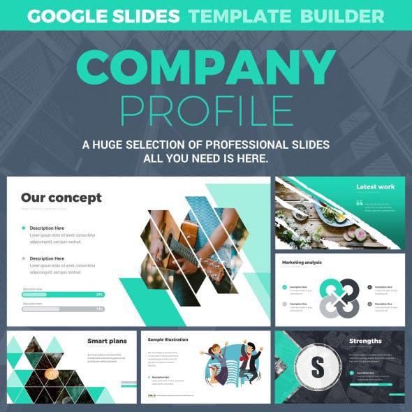 Company Profile Google Slides