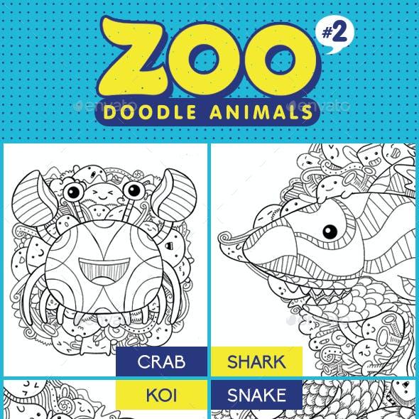 Zoo Doodle Animals #2