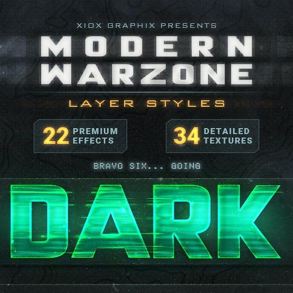 Modern Warzone Layer Styles
