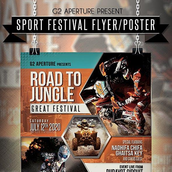 Sport Festival Flyer / Poster