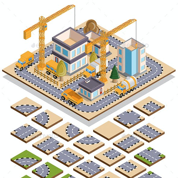 Set of Elements for Building Houses
