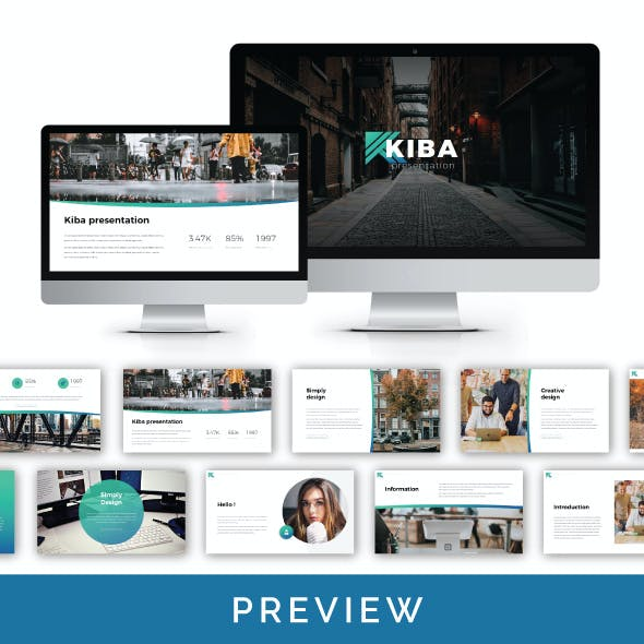 Kiba Multipurpose Presentation Template