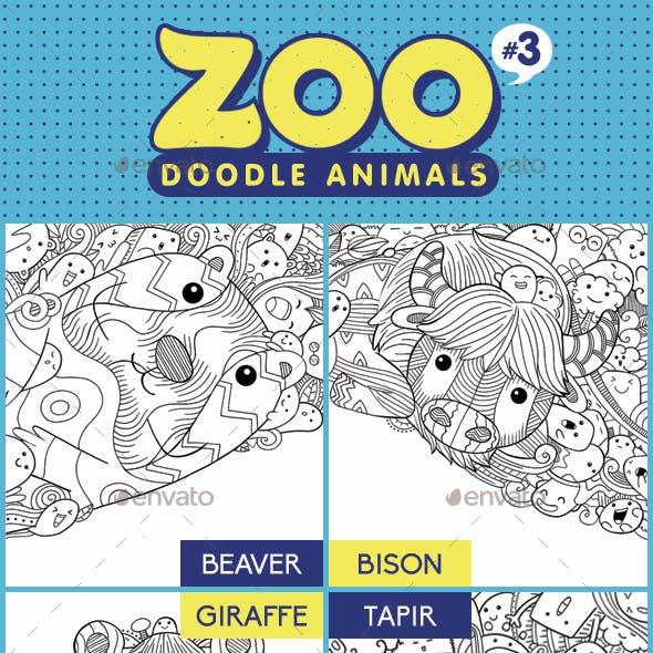 Zoo Doodle Animals #3