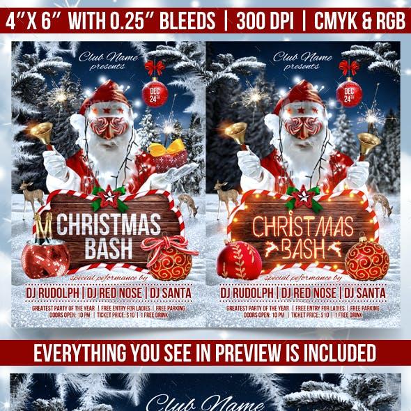 Christmas Bash Flyer Template