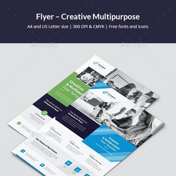 Flyer – Creative Multipurpose