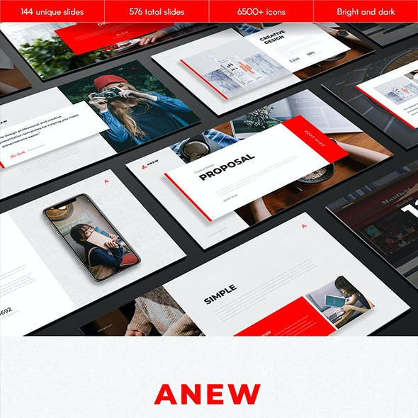 Anew Multipurpose Google Slides Template