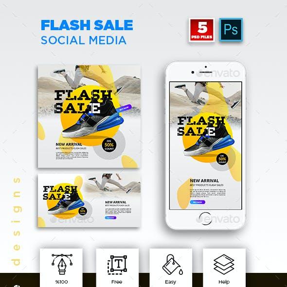 Flash Sale Social Media Pack