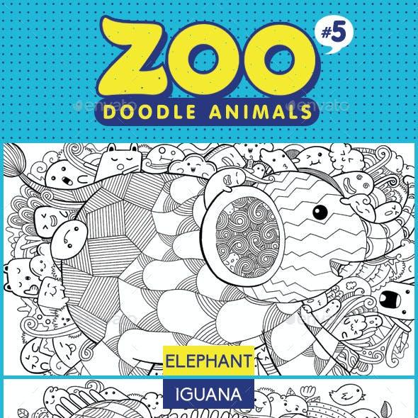 Zoo Doodle Animals #5