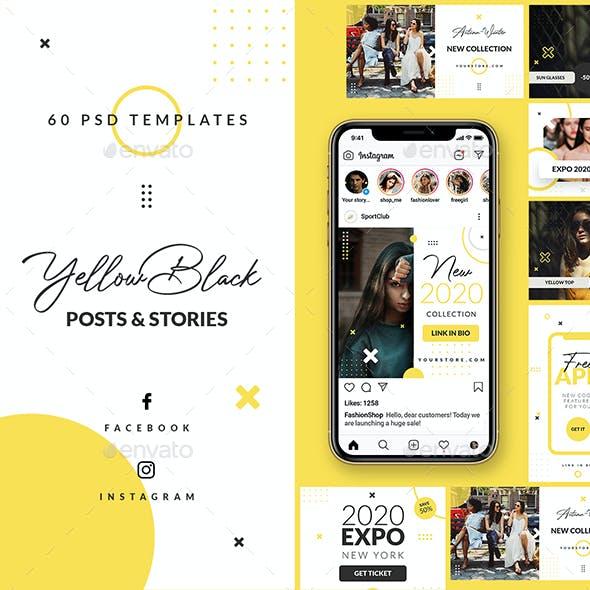 Yellow Black - Stories & Posts