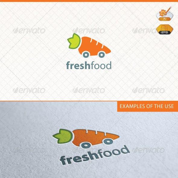 Fresh Food Logo Template