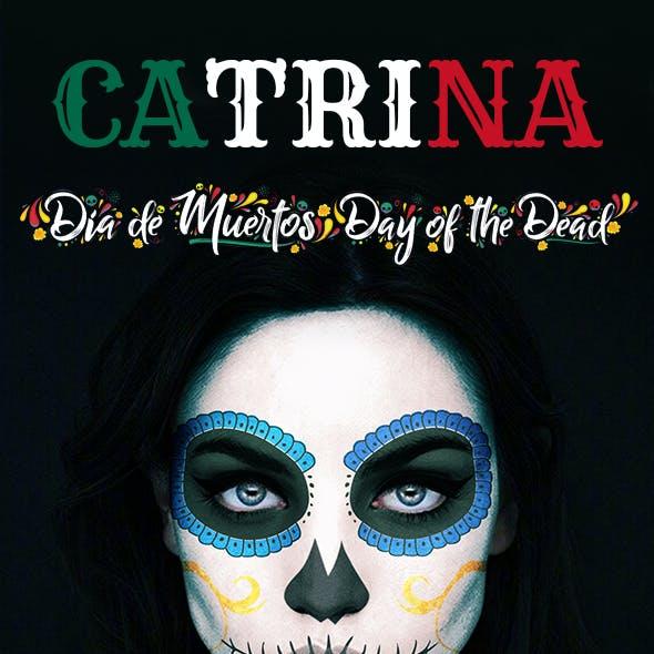 Catrina Skull Photoshop Action