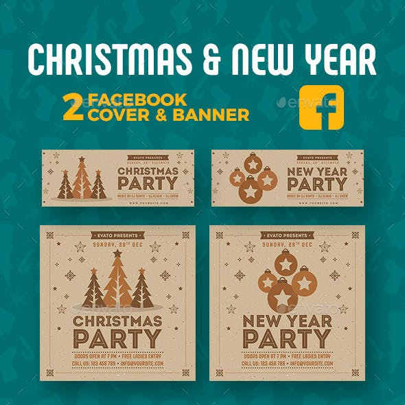 Christmas & New Year Facebook