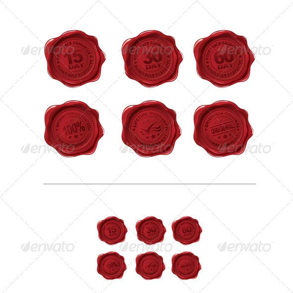 Vector Wax Seals