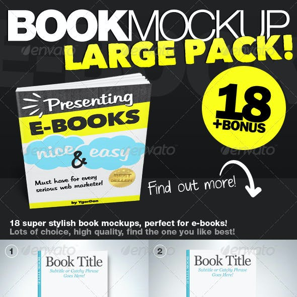 Book Mockup HQ
