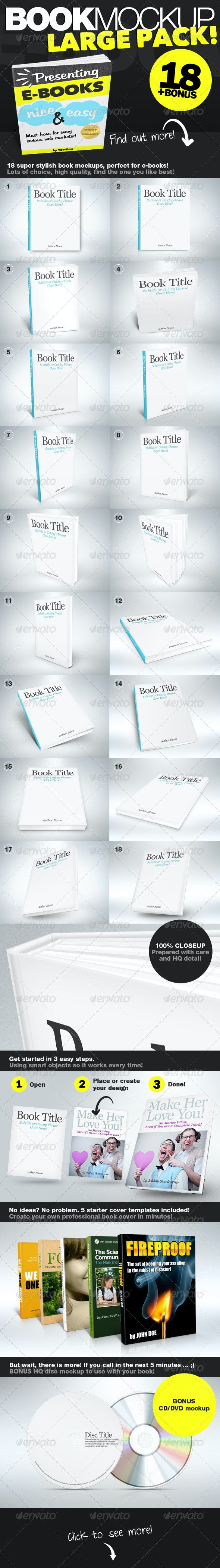 Book Mockup HQ - Books Print