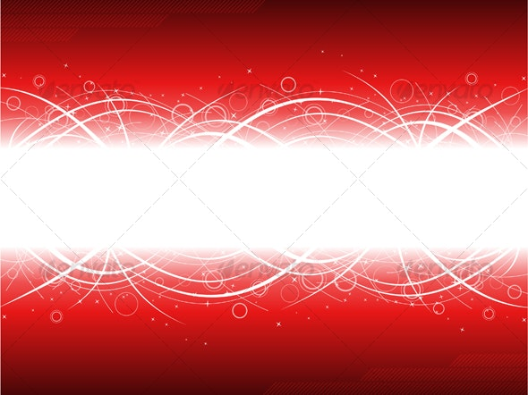 Abstract vector banner in futuristic style - Abstract Conceptual