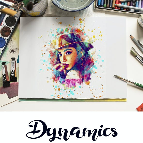 Dynamics Watercolor Painting