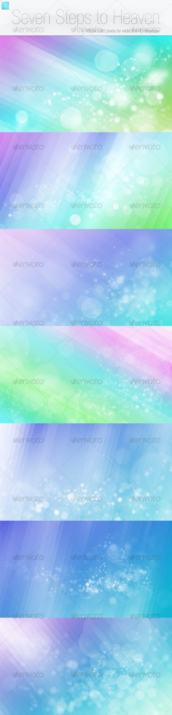 Seven Steps to Heaven - Backgrounds Graphics