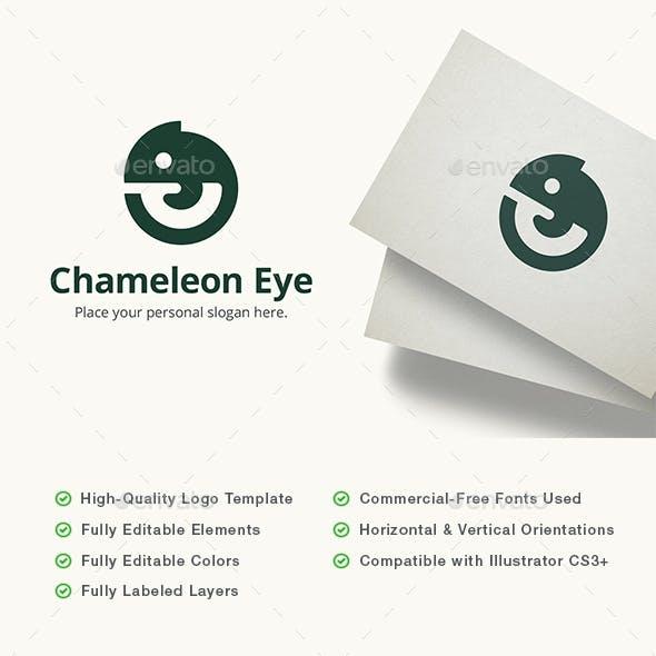 Chameleon Eye Logo