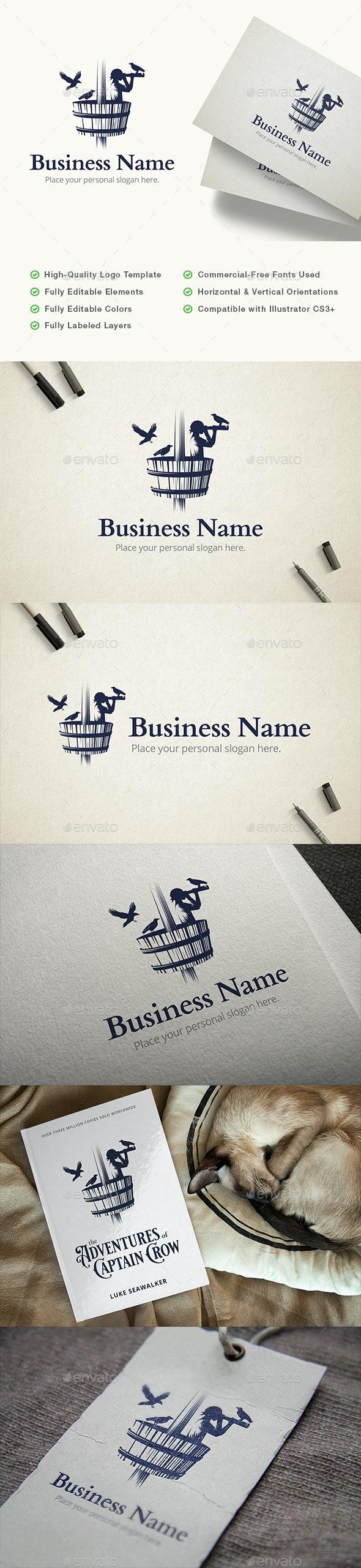 Crow's Nest Sailor Logo - Humans Logo Templates