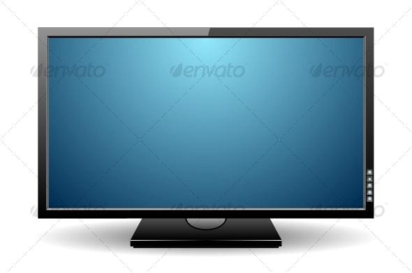 LCD monitor - Media Technology