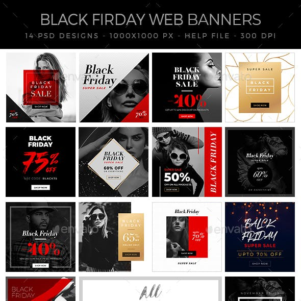 Black Friday Banners