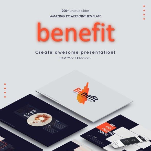 Benefit Powerpoint Presentation
