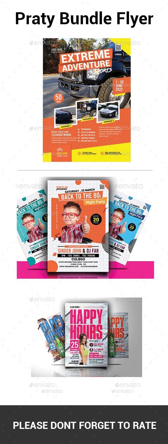 Party Bundle Flyer - Flyers Print Templates