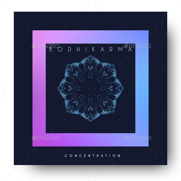 Concentration - Minimal Album Cover Artwork Template