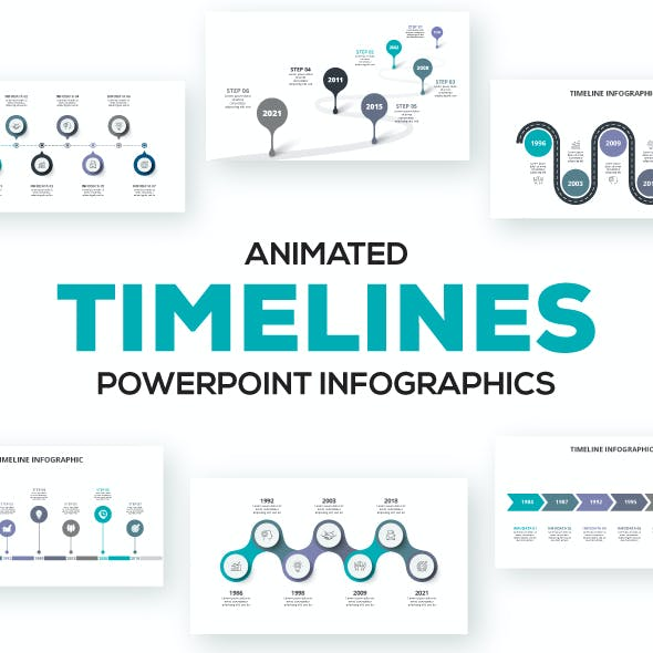 Timelines Animated Infographic Presentations