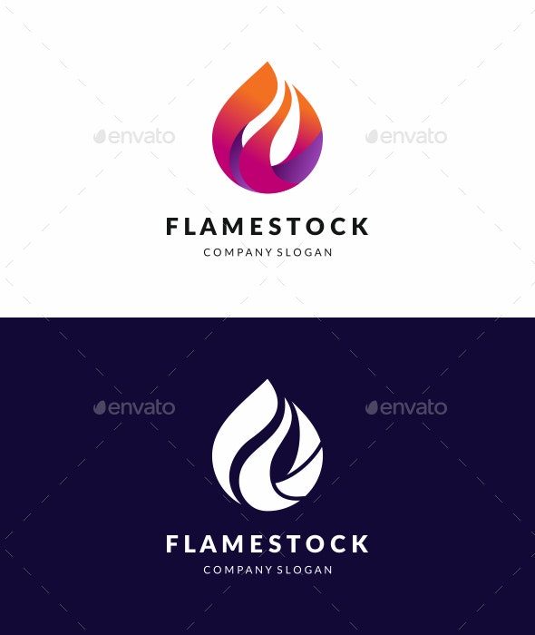 Flame Logo - Abstract Logo Templates